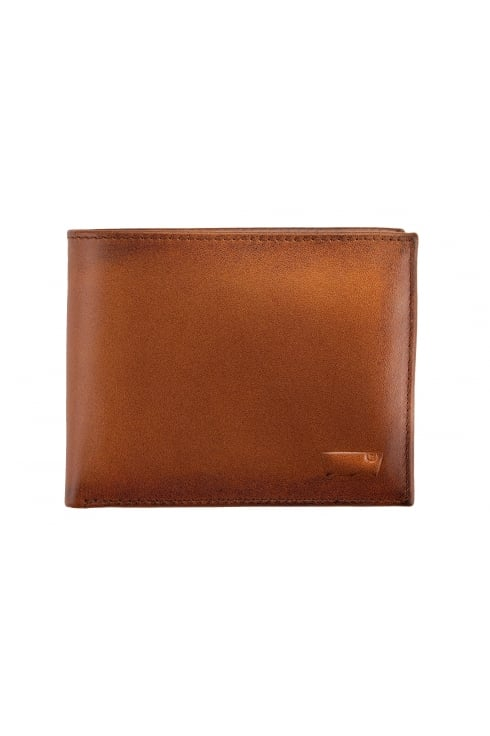 Levi's 2-in-1 Leather Wallet (Brown)