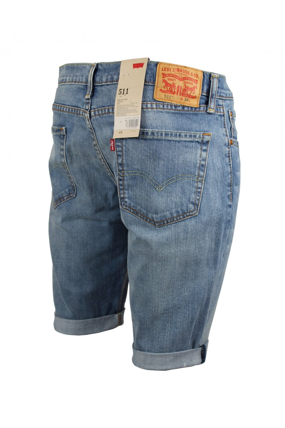0ec336ee Levi's 511 Slim Cut Off Shorts (Yurt) - Jeans from ThirtySix UK