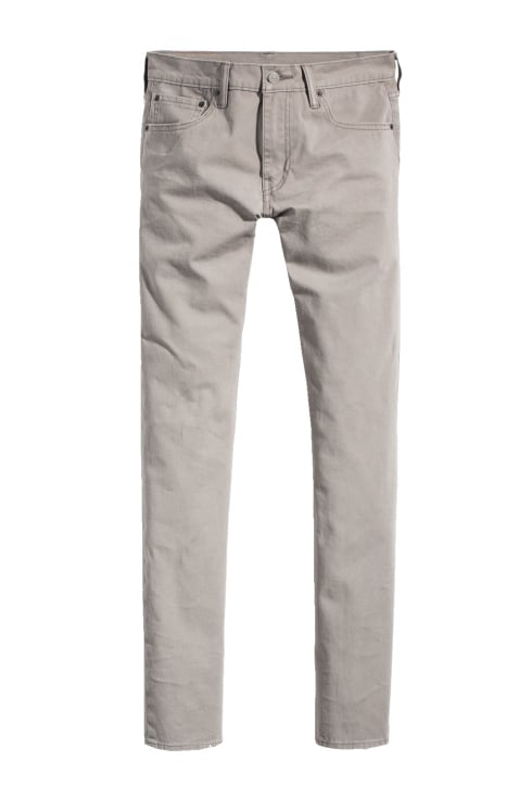 Levi's 511 Slim Fit Chinos (Steel Grey Bistr)