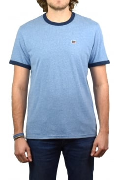 Bernal Ringer Short-Sleeved T-Shirt (Allure Blue)