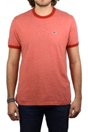 Bernal Ringer Short-Sleeved T-Shirt (Sunset Red)