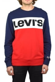 Colour Block Sweatshirt (Olympic)
