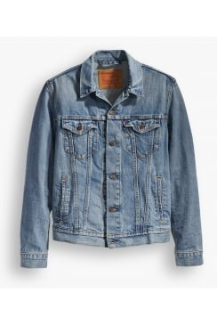 Denim Trucker Jacket (Icy)