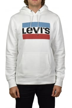 Olympic Logo Hoodie (White)