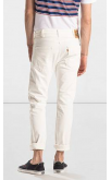 Levi's Orange Tab 505C Slim Fit Jeans (Orange White)