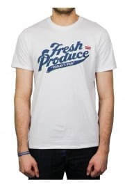 Fresh Produce Graphic Short-Sleeved T-Shirt (White)