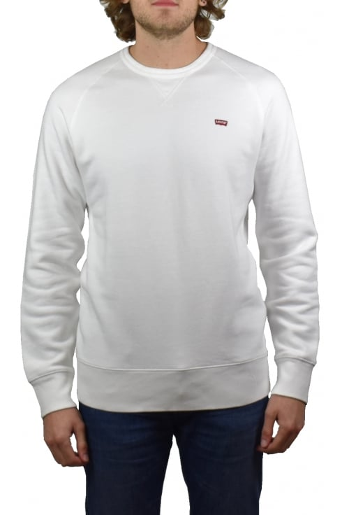 Levi's Original Icon Crew Sweatshirt (White)