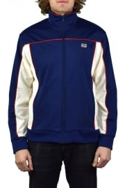 Sport Track Jacket (Blue/White)