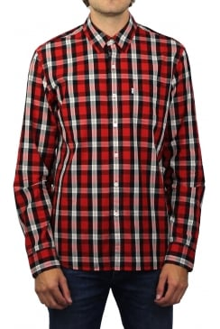 Sunset 1 Pocket Long-Sleeved Shirt (Aspen Cherry Bomb)