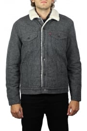 Type 3 Sherpa Trucker Jacket (Biffy Grey Carbon)