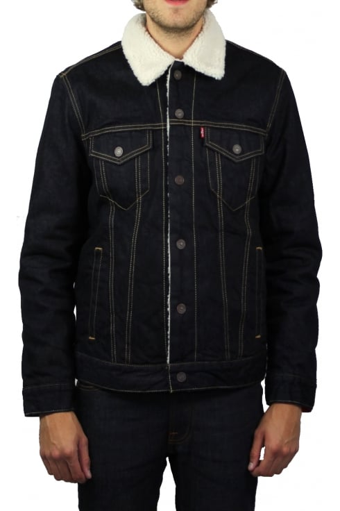 Levi's Type 3 Sherpa Trucker Jacket (Raw Power)