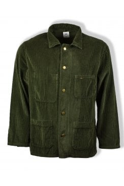 French Worker Jacket (Olive)