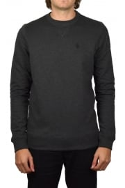 Core Crew Neck Sweatshirt (Marl Charcoal)