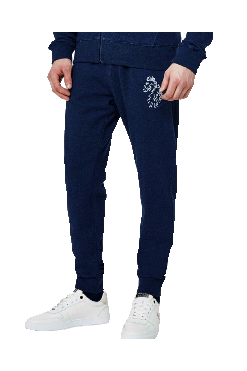 Luke 1977 Hensons Slim Fit Jogging Bottoms (Marl Lux Petrol)