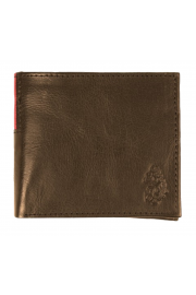 Wade Bi-Fold Leather Wallet (Brown)