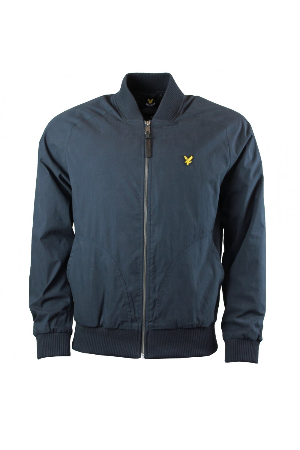 lyle scott bomber jacket new navy lyle scott from thirtysix uk. Black Bedroom Furniture Sets. Home Design Ideas