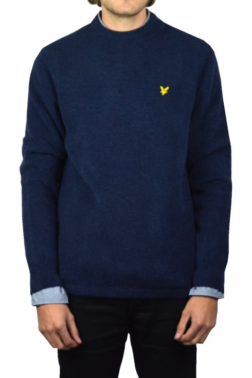 Lyle & Scott Brushed Jumper (Ink Blue Marl)