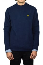 Brushed Jumper (Ink Blue Marl)