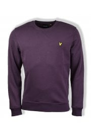 Crew-Neck Sweatshirt (Deep Plum)