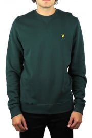 Crew-Neck Sweatshirt (Forest Green)
