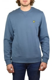 Crew-Neck Sweatshirt (Mist Blue)
