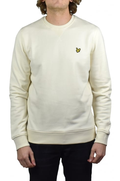 Lyle & Scott Crew-Neck Sweatshirt (Seashell White)