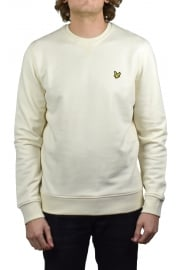 Crew-Neck Sweatshirt (Seashell White)