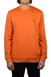 Front Pocket Sweatshirt (Fox Orange)