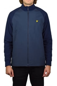 Funnel Neck Soft Shell Jacket (Navy)