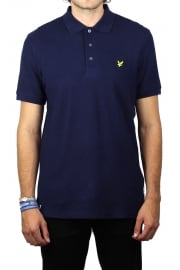 Honeycomb Polo Shirt (Navy)