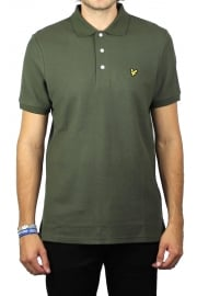 Honeycomb Polo Shirt (Olive)
