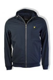 Hooded Softshell Jacket (Dark Navy)