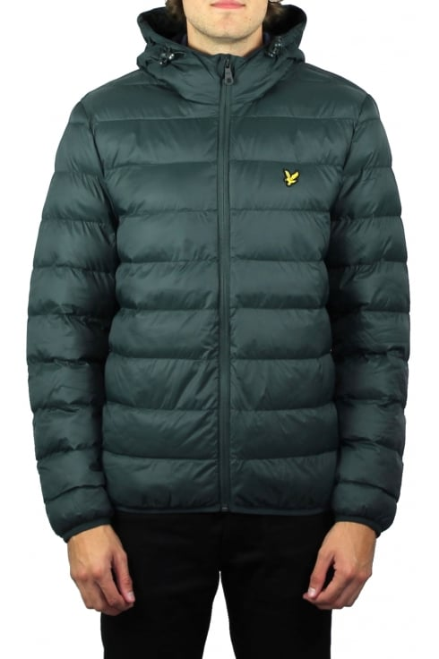 Lyle & Scott Lightweight Puffer Jacket (Forest Green)