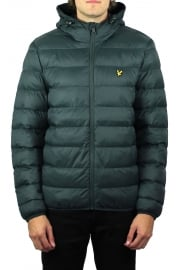 Lightweight Puffer Jacket (Forest Green)