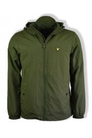 Microfleece Lined Zip Through Jacket (Woodland Green)