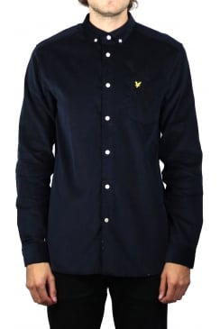 Mini Cord Shirt (Navy)