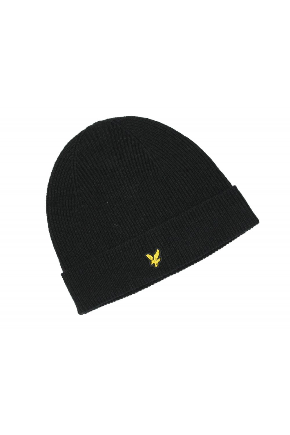 488b9194a Lyle & Scott Plain Beanie Hat (True Black)