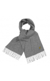 Lyle & Scott Plain Lambswool Scarf (Mid Marl Grey)