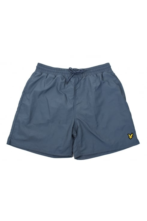 Lyle & Scott Plain Swim Shorts (Mist Blue)