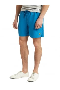 Plain Swim Shorts (Pacific Blue)