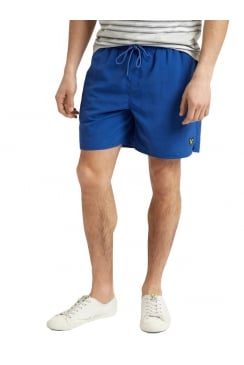 Plain Swim Shorts (True Blue)