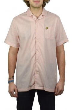 Resort Short-Sleeved Shirt (Dusty Pink)
