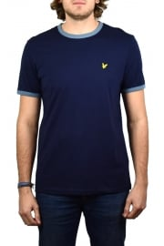 Ringer T-Shirt (Navy)