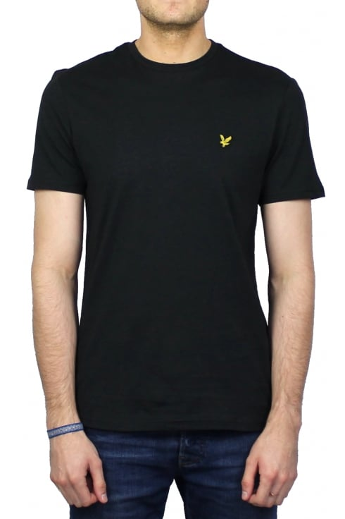 Lyle & Scott Short-Sleeved Crew Neck T-Shirt (Black)