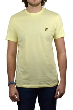 Short-Sleeved Crew Neck T-Shirt (Butter Cream)