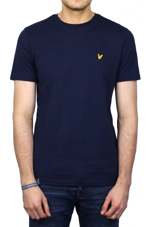 Lyle & Scott Short-Sleeved Crew Neck T-Shirt (Navy)