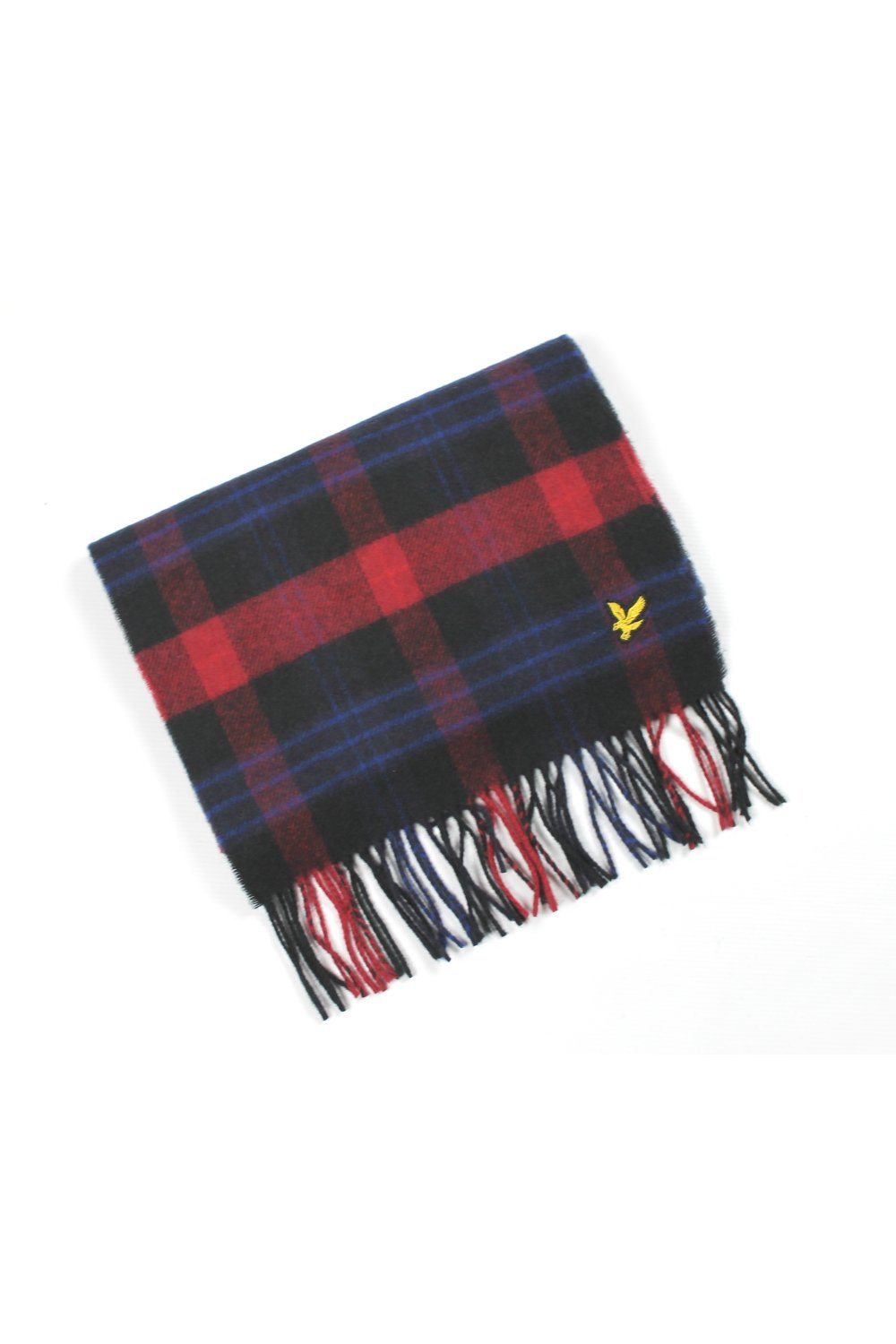 super billigt skridsko skor klassisk stil Lyle & Scott Tartan Scarf (True Black/Red) - Accessories from ...
