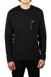 Zip Pocket Sweatshirt (Black)