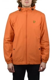 Zip Through Hooded Jacket (Fox Orange)