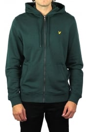 Zip-Through Hoody (Forest Green)